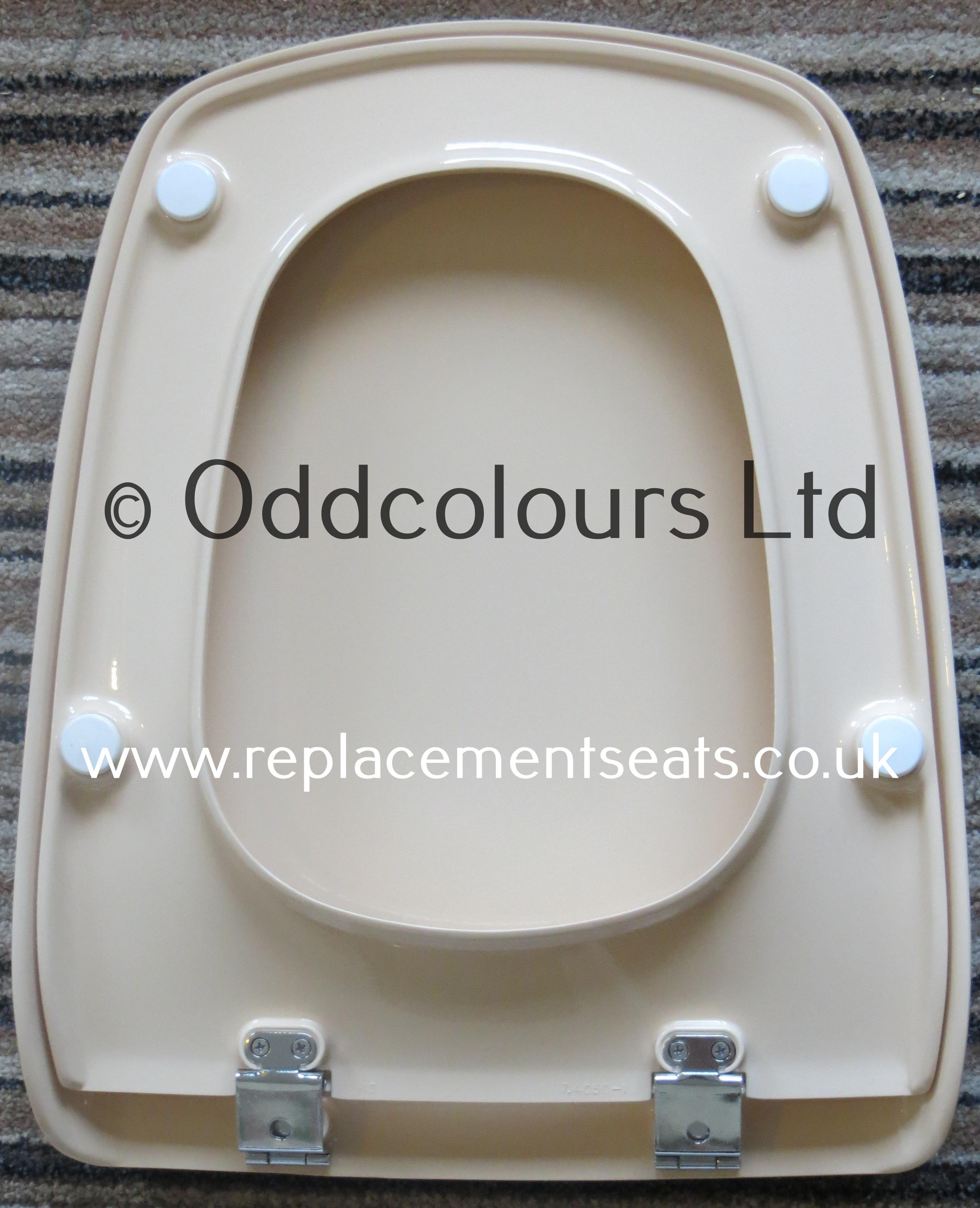 Idéal Standard Accent Résine Replica SEAT en Blanc avec CP Charnières